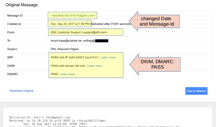 Breaking DKIM - on Purpose and by Chance
